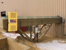 """American Bin & Conveyor Model 30x76 30"""" x 75' Power Belt Conveyor, S/N 14-610, (2014) - Subj to Bulk"""