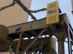 """American Bin & Conveyor 24"""" x 90' Power Belt Conveyor, Asset #C05, 7.5 hp; Elevated S - Subj to Bulk"""