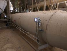 Tunnel on side of Carrier dryer/shaker - Subj to Bulk