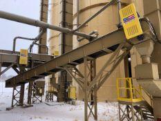 """American Bin & Conveyor 24"""" x 40' Power Belt Conveyor, Asset #C07, 7.5 hp; Stationary - Subj to Bulk"""