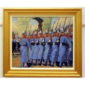 Grenville Irwin (British 1893-1947) 'French Republican Guard ~ World War One Armistice March
