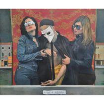 Andrés García Ibáñez (born 1971) 'La Muerte de Tiziano' 2003 oil on board sight size: 980 x 1180mm