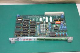SAF DRIVE SYSTEMS CA403 MULTIPLE INPUT/OUTPUT CARD