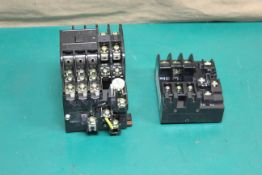 FUJI ELECTRIC MAGNETIC CONTACTOR AND THERMAL OVERLOAD RELAY