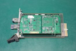 ACT TECHNICO cPCI CARD WITH SCRAMNET GT INDUSTRIAL NETWORK CARD
