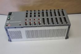 CONTROL TECHNOLOGY PLC RACK WITH 10 MODULES