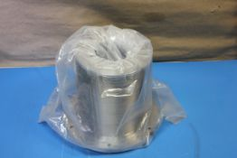 NEW , LARGE HIGH VACUUM BELLOWS FITTING