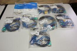 LOT OF NEW CABLES USB, KVM, PS2