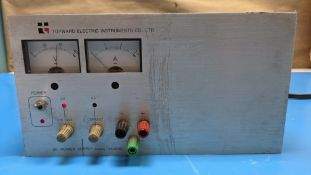 TOPWARD ELECTRIC INSTRUMENTS DC POWER SUPPLY TPS-2000