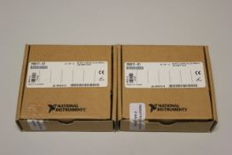 LOT OF 2 NATIONAL INSTRUMENTS 9977 C SERIES FILLER MODULE FOR EMPTY SLOT