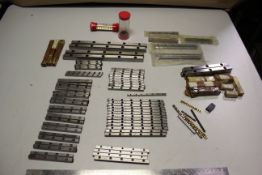 LOT OF CROSS ROLLER BEARING RAIL GUIDES AND CAGES