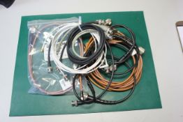 LOT OF RF MICROWAVE RF CABLES