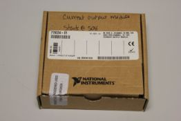 NEW NATIONAL INSTRUMENTS 9265 4-CHANNEL CURRENT OUTPUT MODULE
