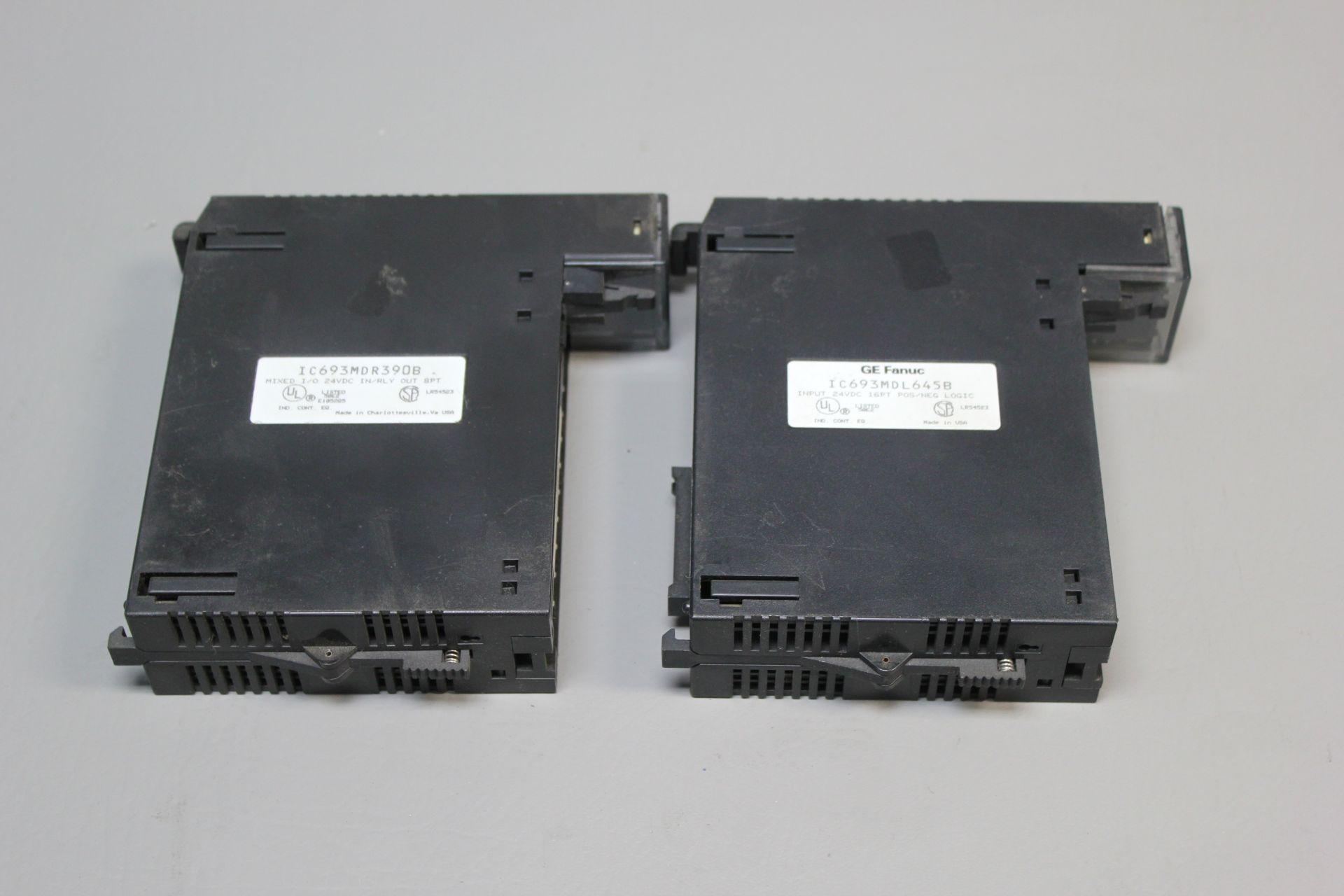 2 GE FANUC PLC MODULES