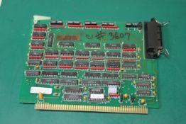 PLC PROCESSOR BOARD 353750-01F