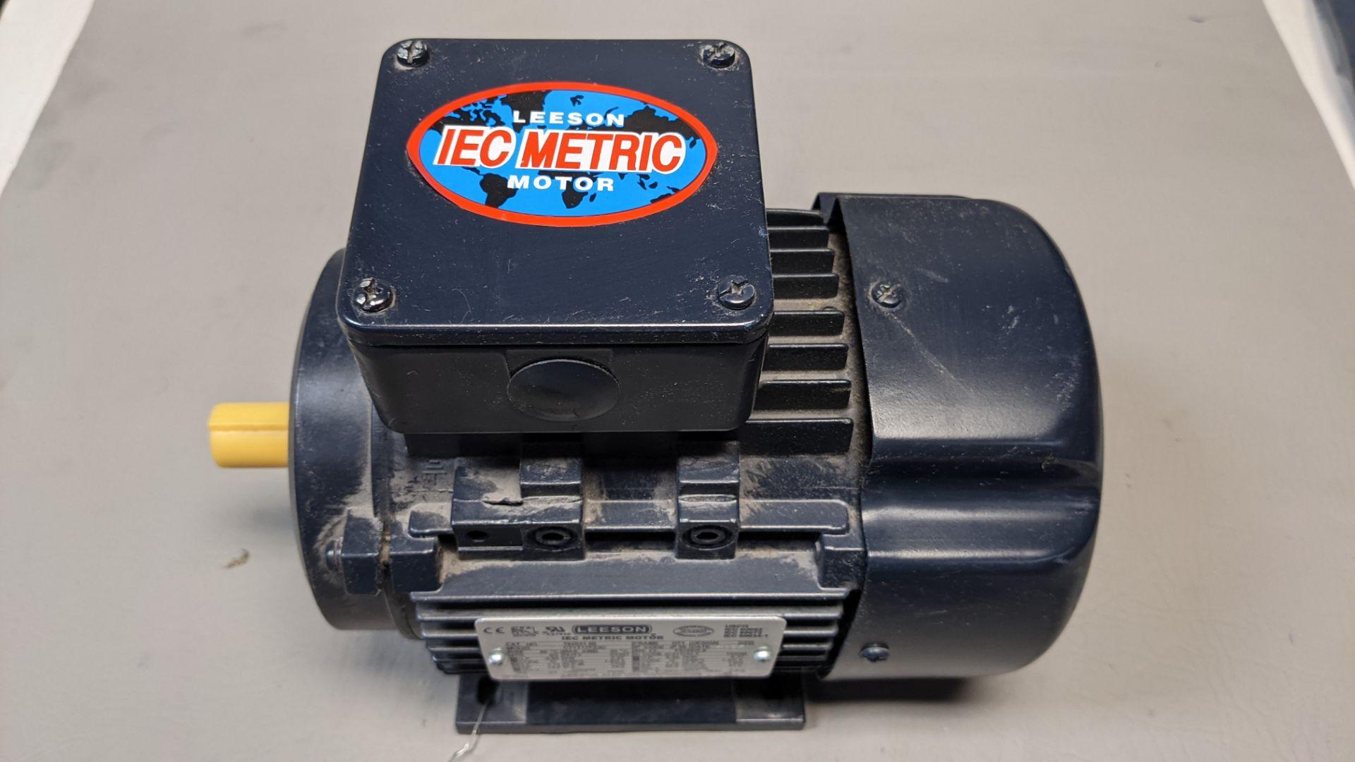 UNUSED LEESON IEC METRIC MOTOR