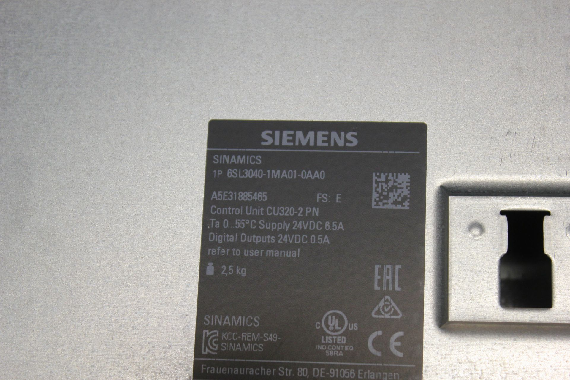 NEW SIEMENS SINAMICS FREQUENCY CONVERTER CONTROL UNIT - Image 5 of 6