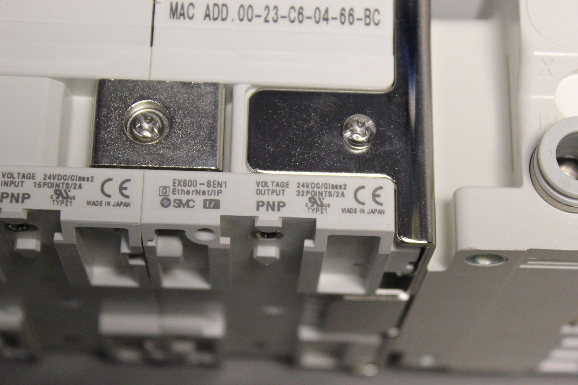 NEW SMC MANIFOLD WITH SOLENOID VALVES, ETHERNET/IP I/O - Image 8 of 8