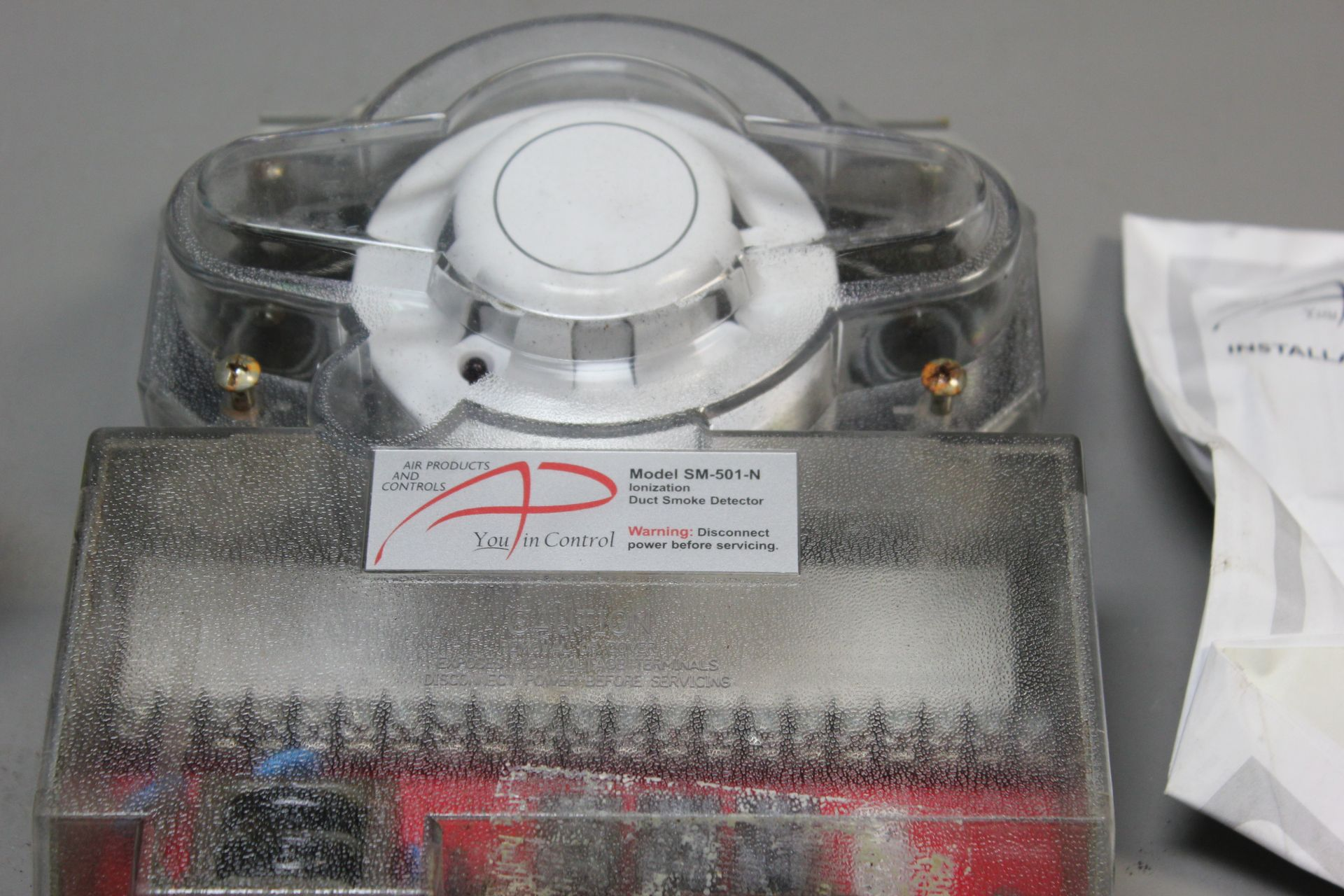AIR PRODUCTS 4 WIRE DUCT SMOKE DETECTOR - Image 4 of 6