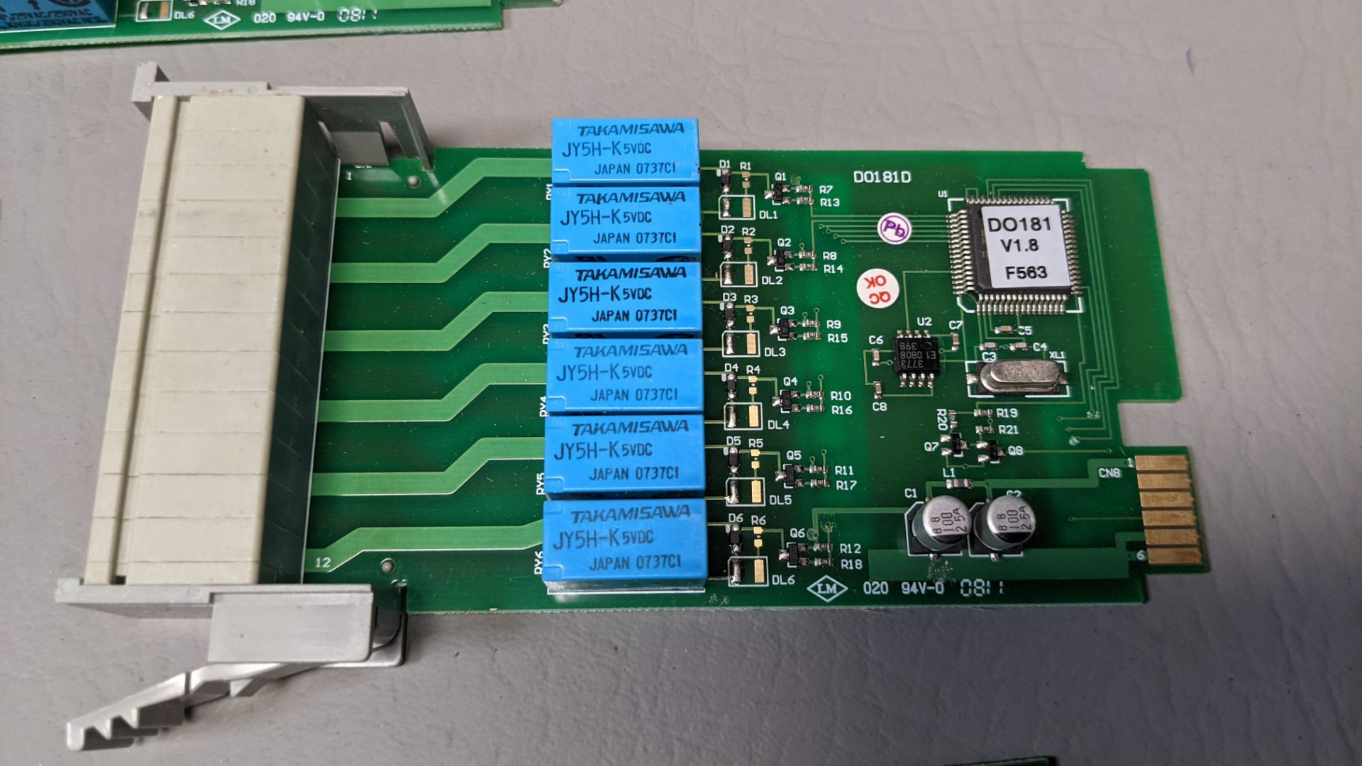 LOT OF FUTURE DESIGN CONTROLS CHART RECORDER INTERFACE MODULES - Image 5 of 9