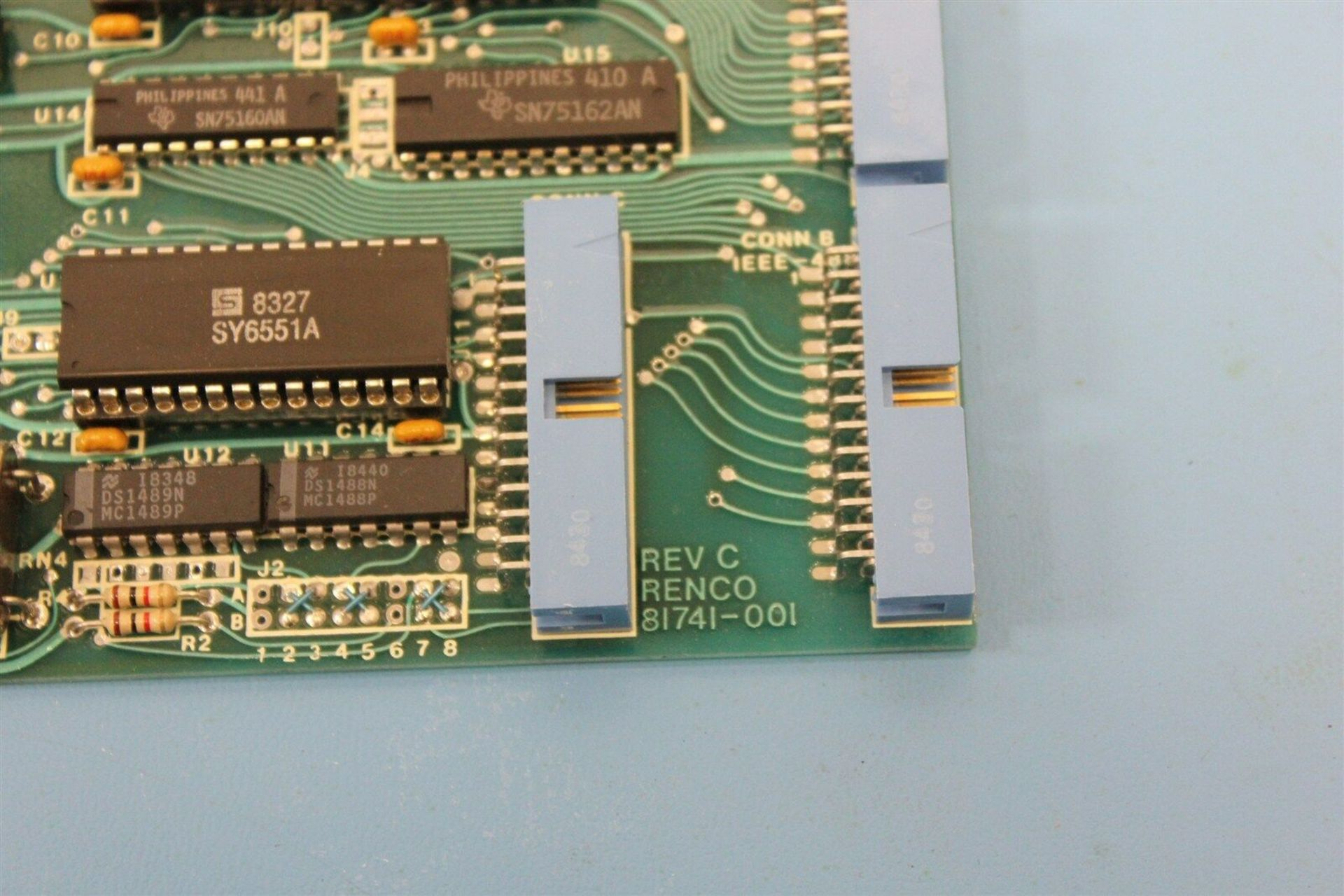 RENCO SERIAL INTERFACE MOTION CONTROL BOARD - Image 4 of 4