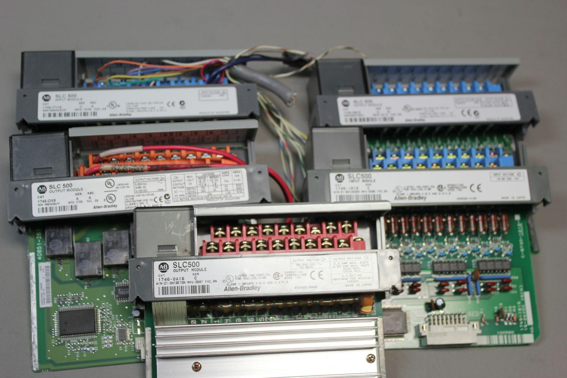LOT OF ALLEN BRADLEY PLC MODULES - Image 2 of 2