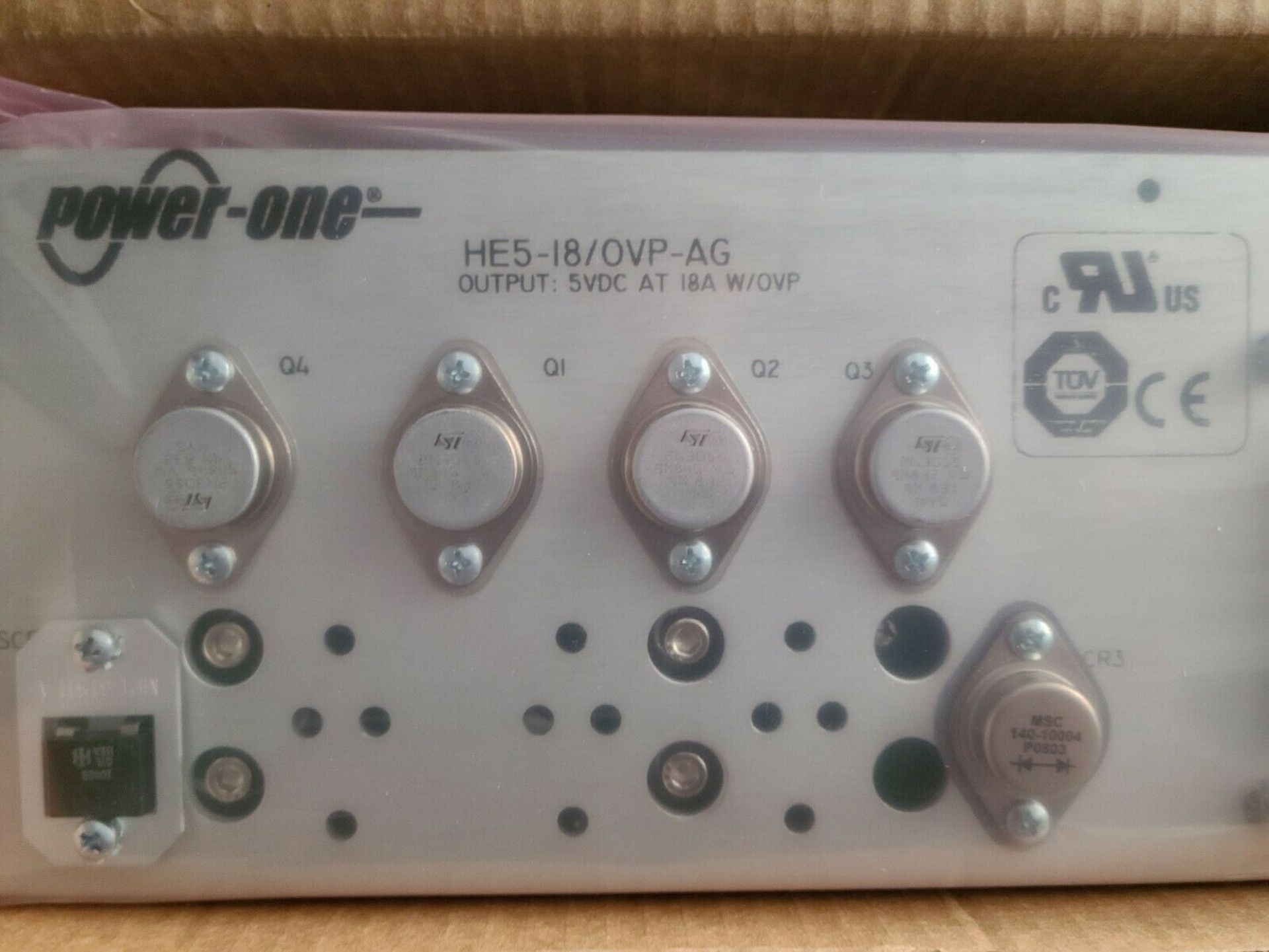 NEW POWER ONE 5VDC 18A AUTOMATION POWER SUPPLY - Image 4 of 5