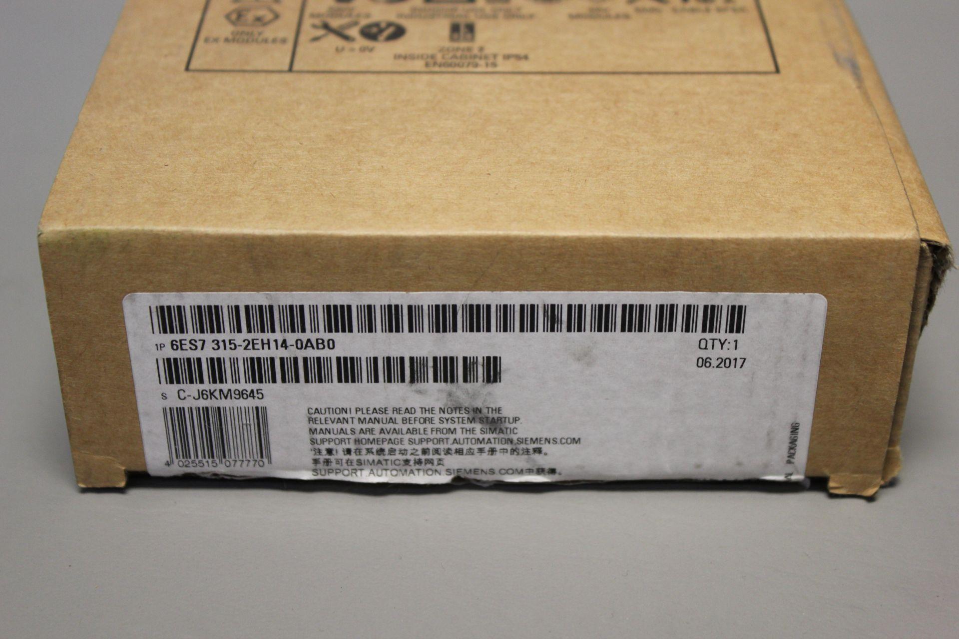 NEW SIEMENS SIMATIC S7-300 PLC CPU PROCESSOR - Image 2 of 7