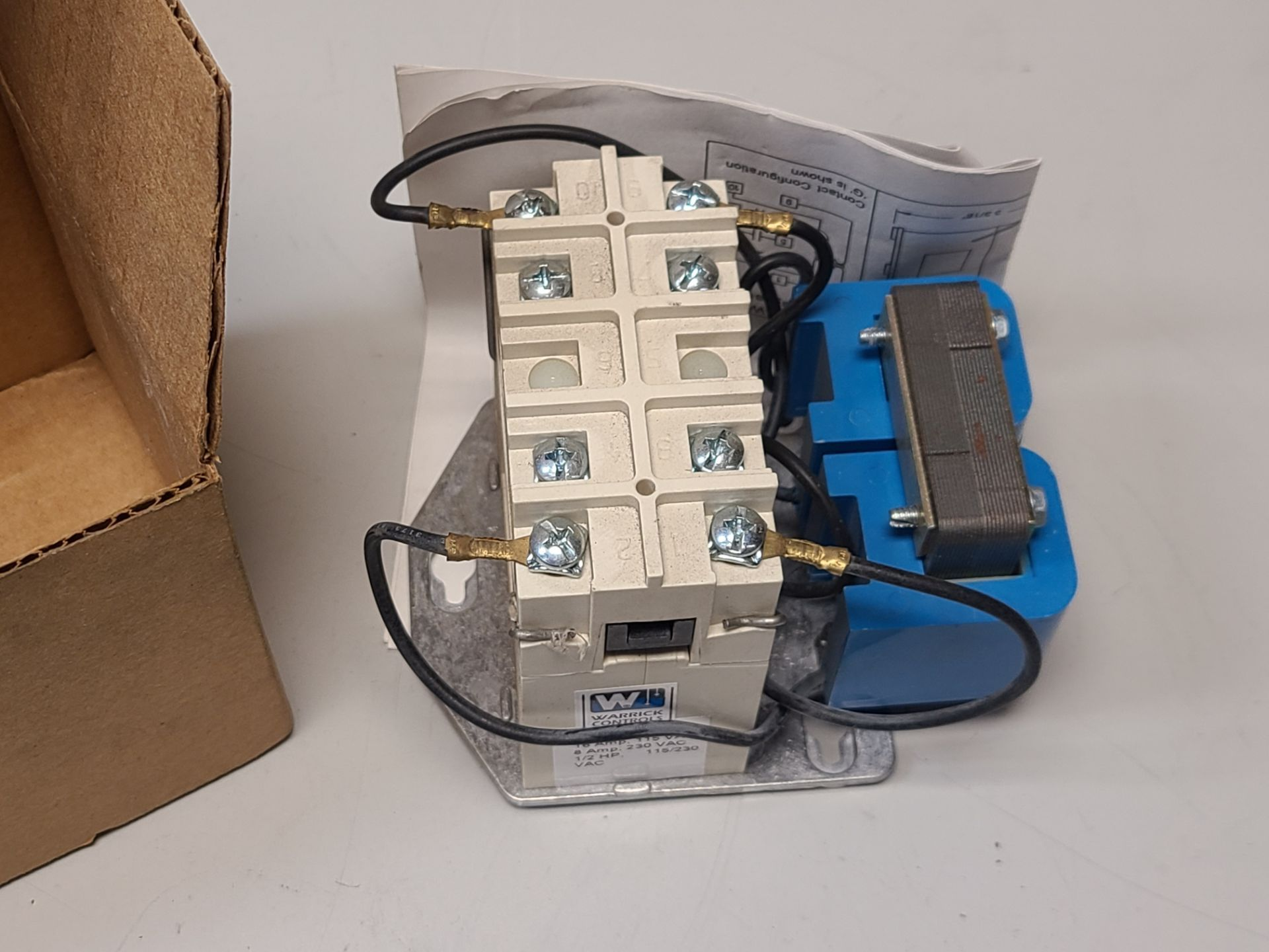 NEW WARRICK/GEMS CONTROL RELAY - Image 2 of 4