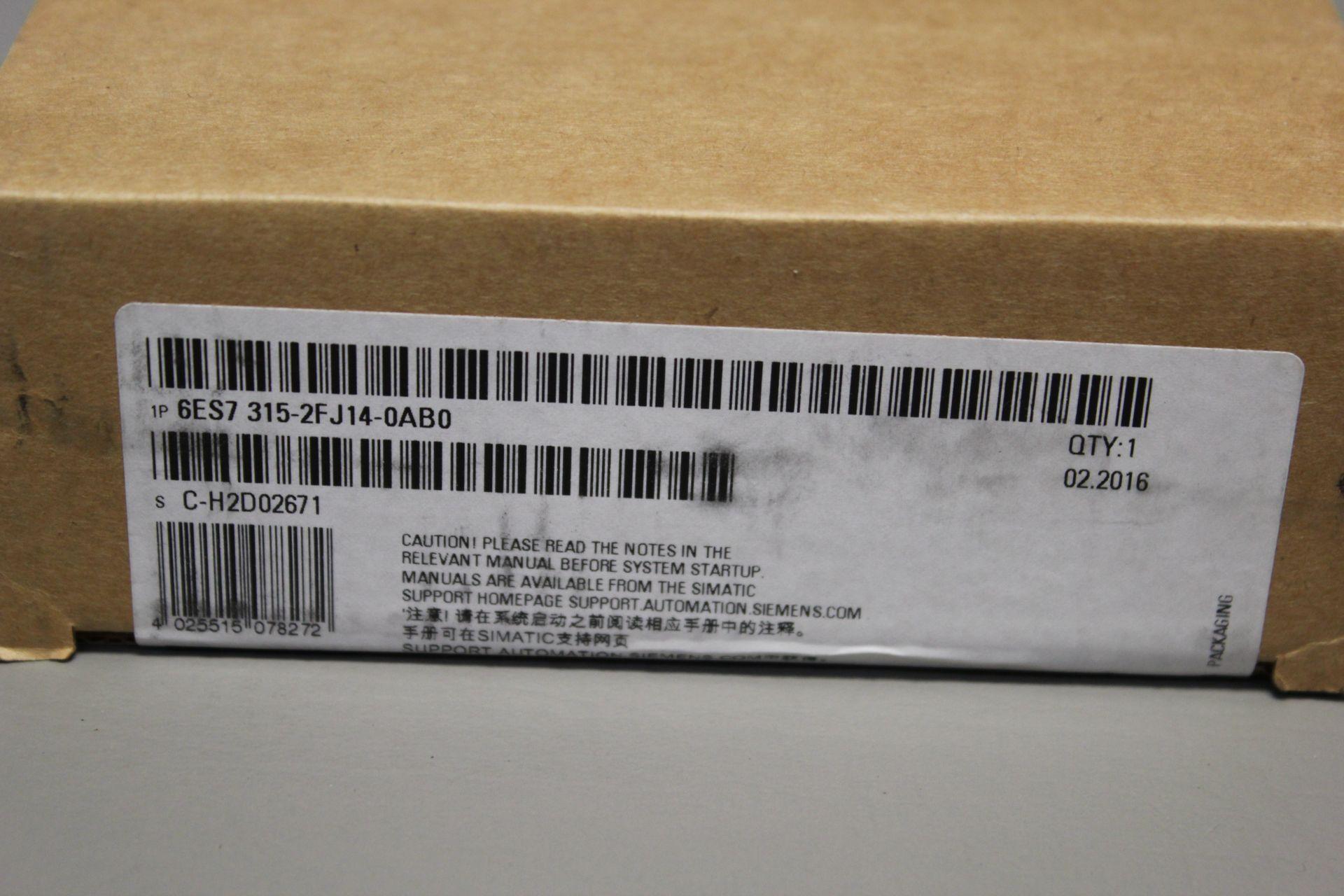 NEW SIEMENS SIMATIC S7-300 PLC CPU PROCESSOR - Image 2 of 3