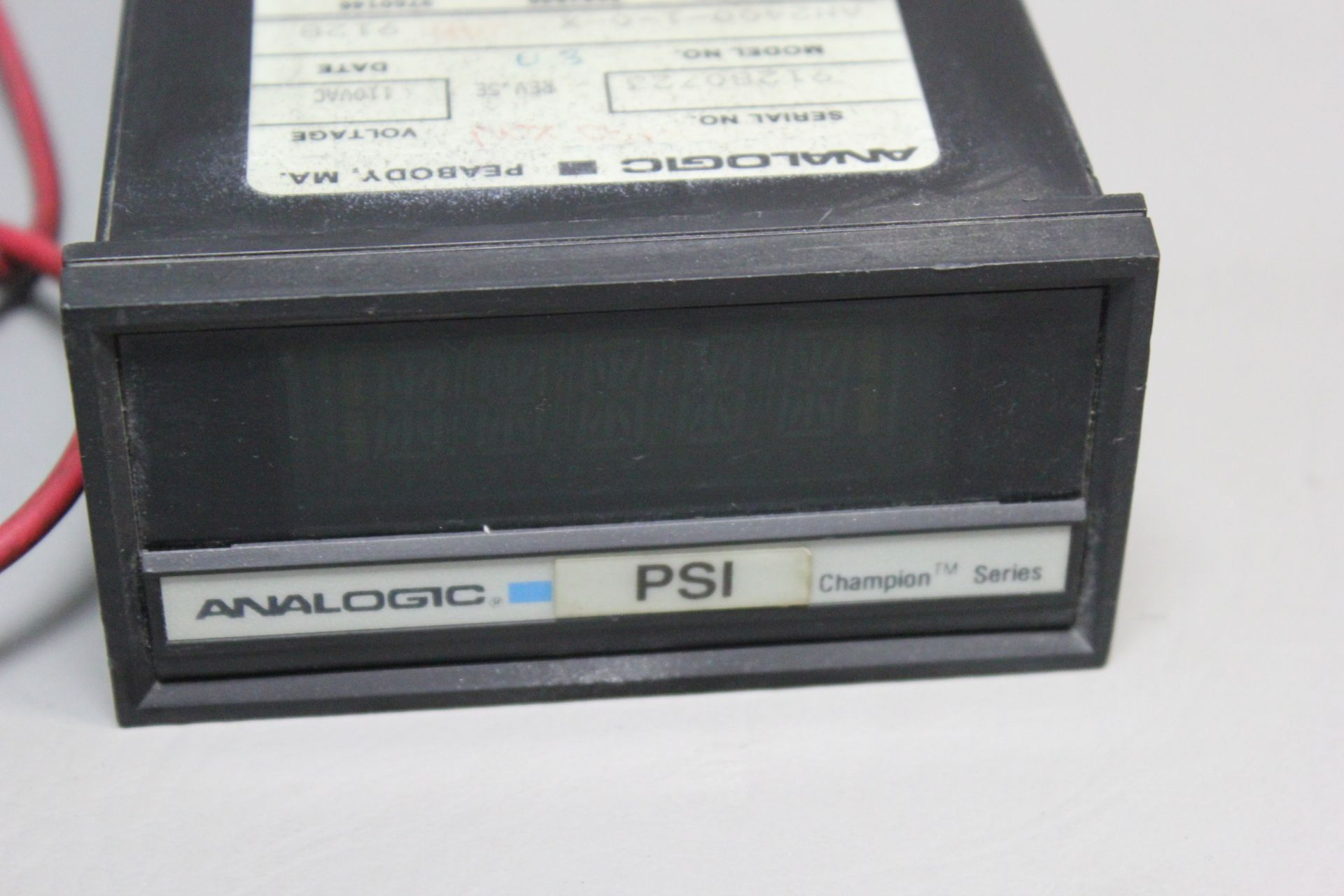 ANALOGIC VOLTAGE/CURRENT CONTROLLER PANEL METER - Image 2 of 4