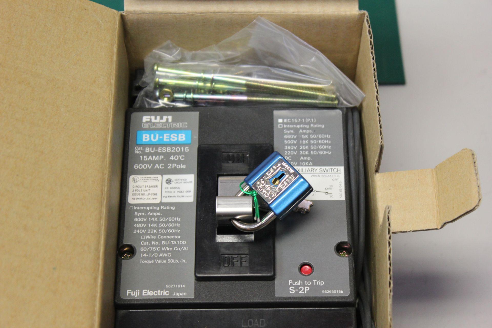 NEW FUJI ELECTRIC CIRCUIT BREAKER - Image 2 of 3