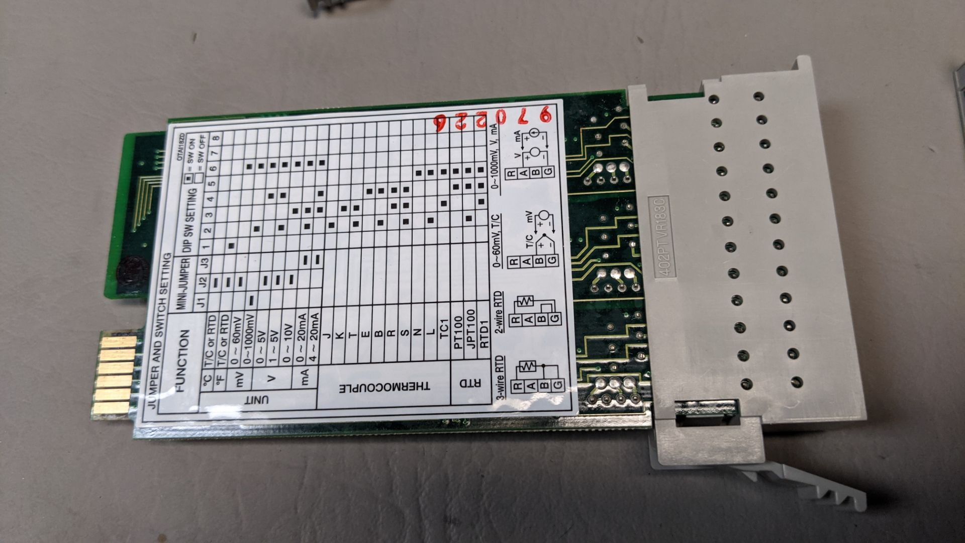 LOT OF FUTURE DESIGN CONTROLS CHART RECORDER INTERFACE MODULES - Image 3 of 9