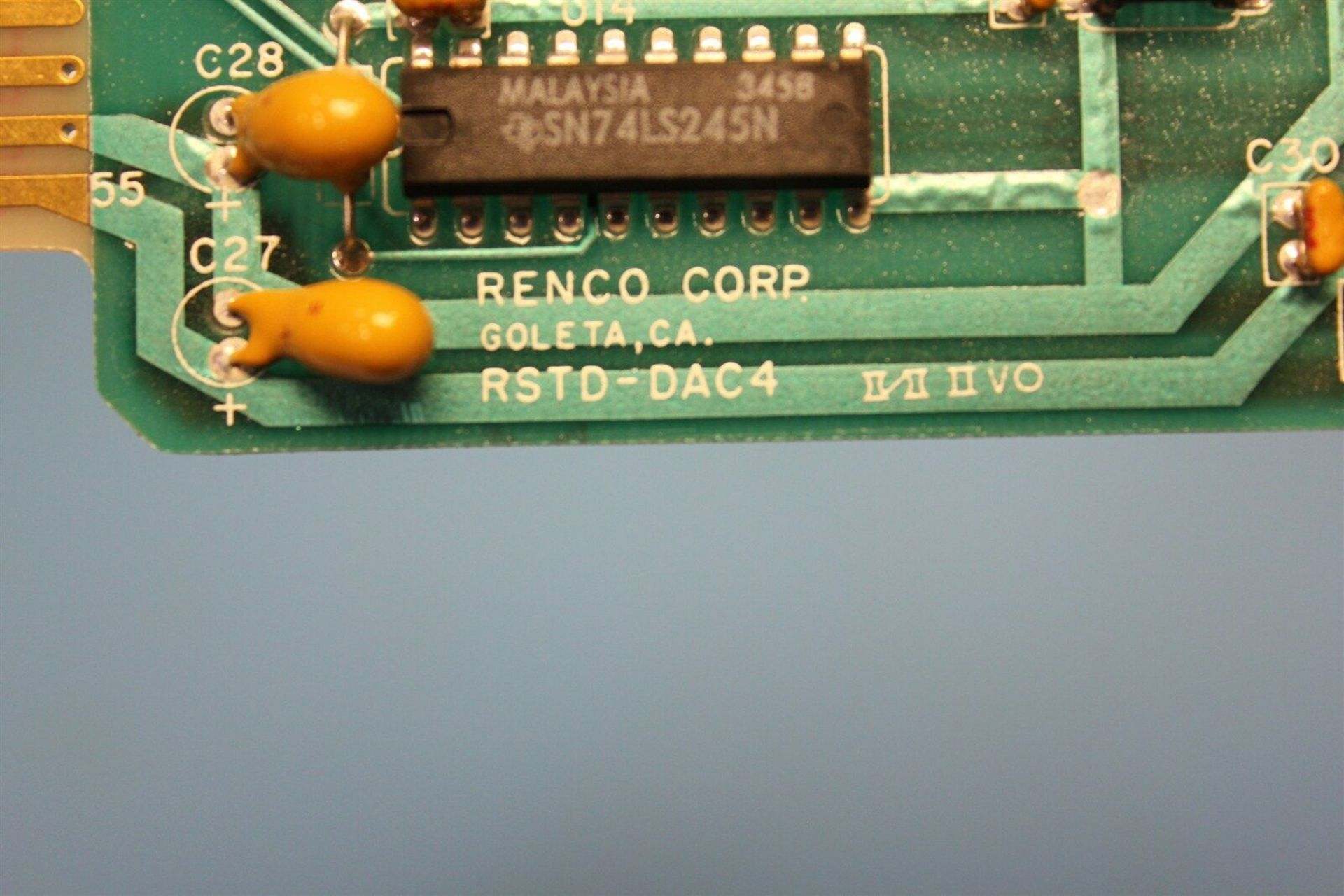 RENCO D/A CONVERTER MOTION CONTROL BOARD - Image 4 of 4
