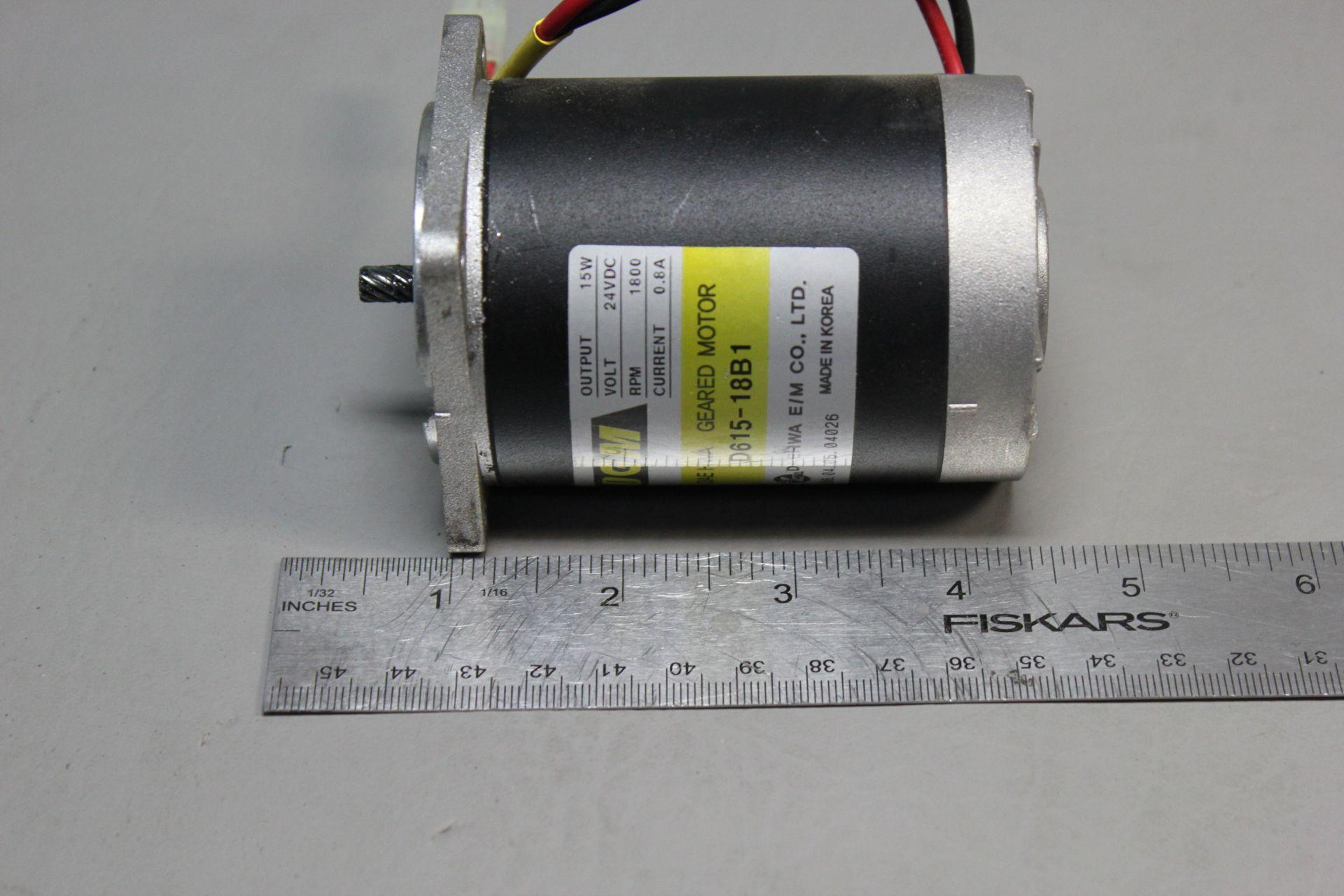 DGM 24V 15W GEARED MOTOR - Image 4 of 4