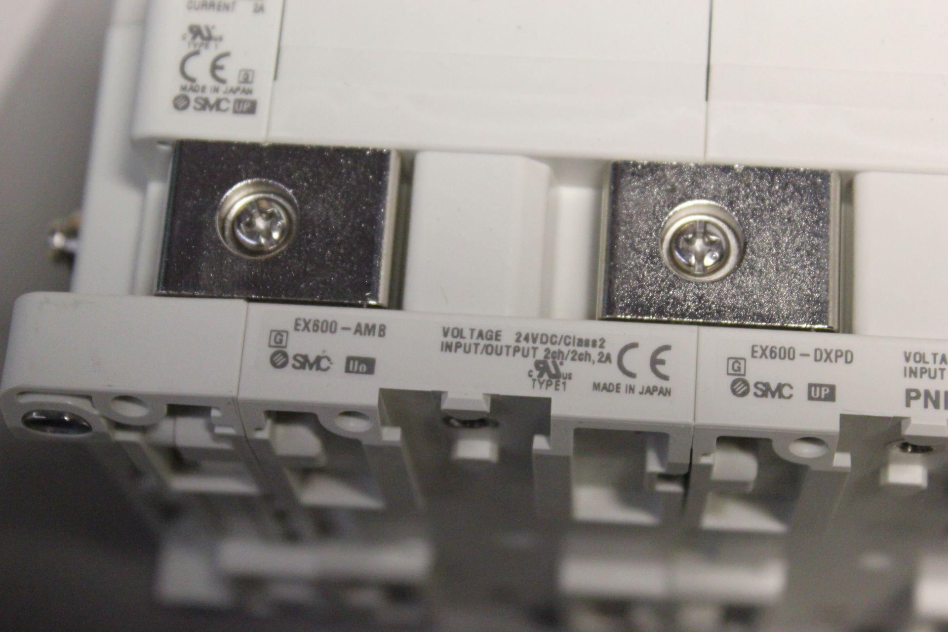 NEW SMC MANIFOLD WITH SOLENOID VALVES, ETHERNET/IP I/O - Image 6 of 8