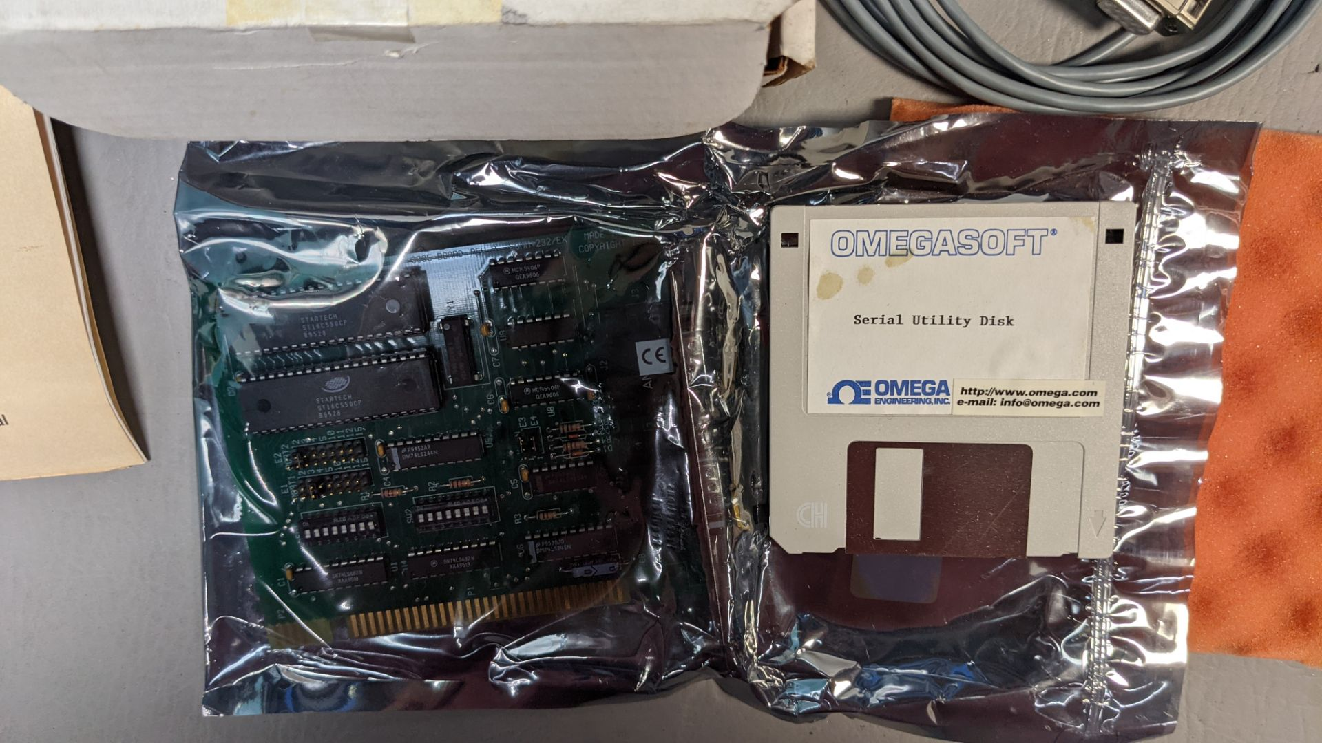 OMEGA DUAL PORT RS-232 INTERFACE CARD - Image 2 of 4
