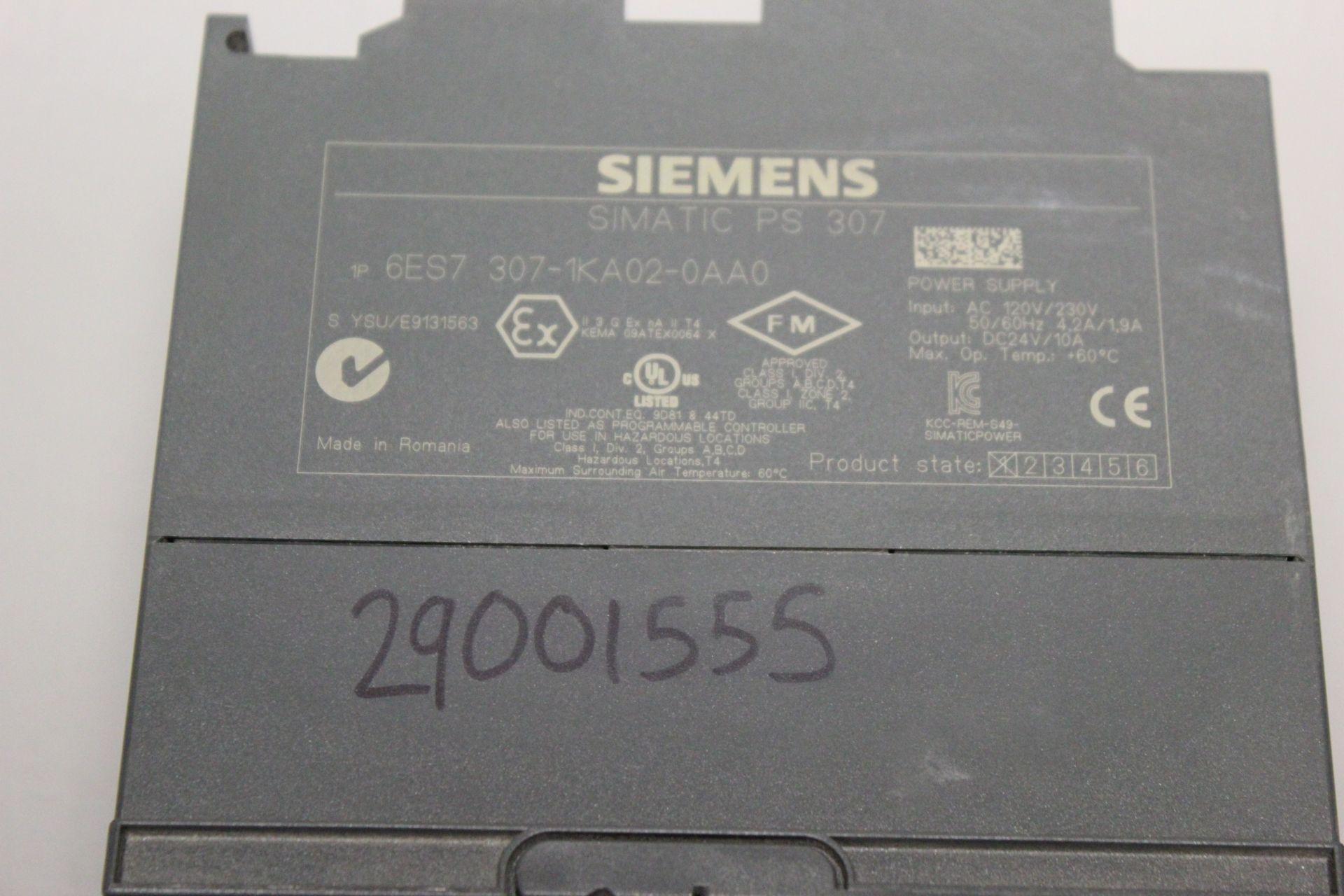 SIEMENS SIMATIC PLC POWER SUPPLY - Image 3 of 3
