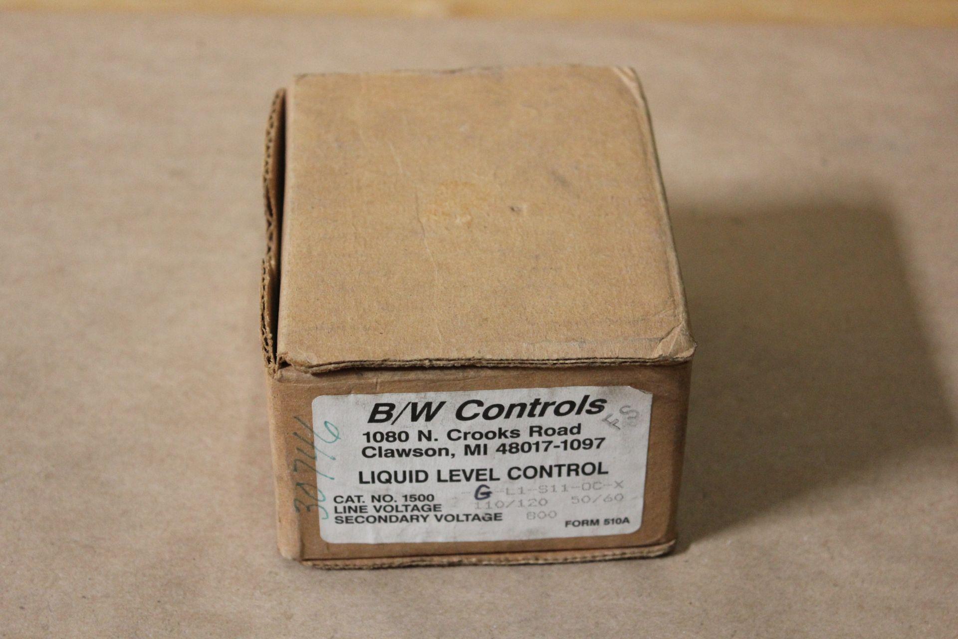 NEW B/W CONTROLS LIQUID LEVEL CONTROL
