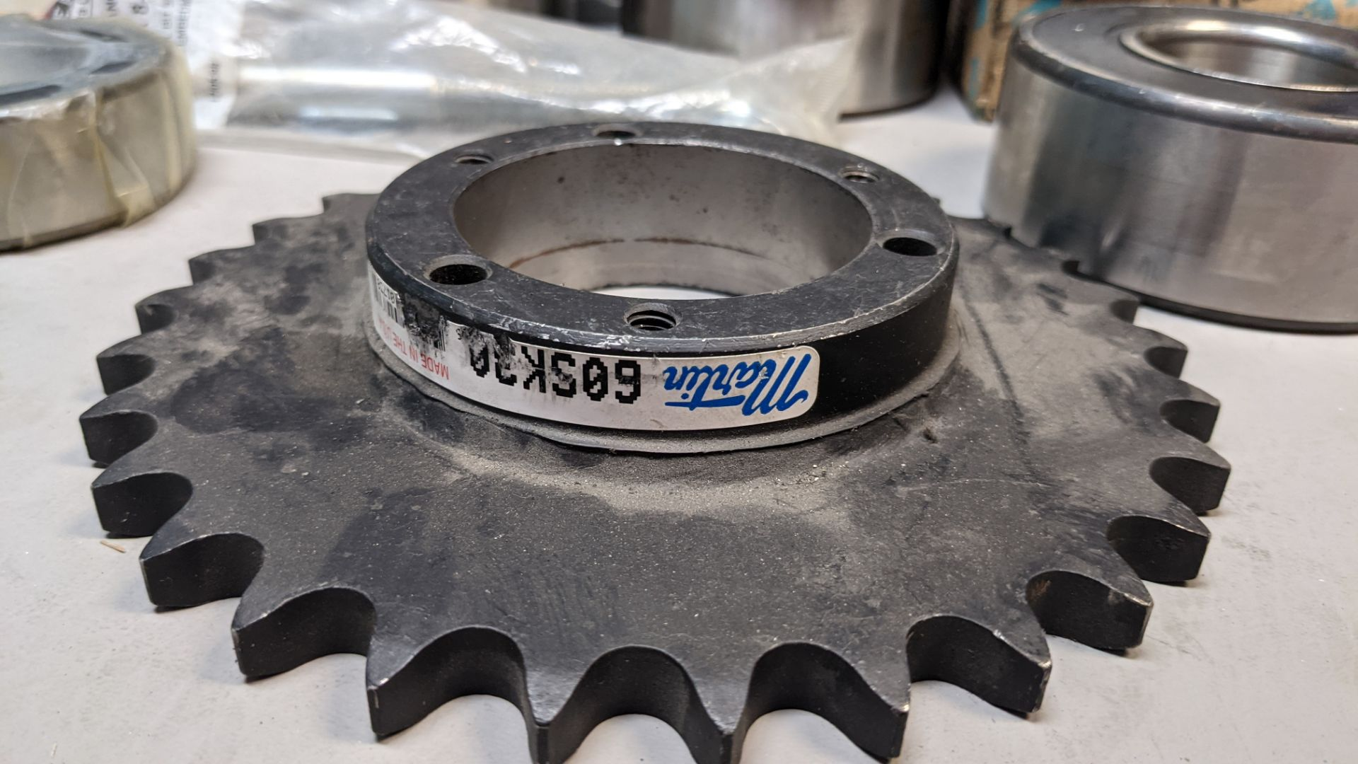 LOT F OBEARINGS AND SPROCKETS - Image 2 of 7