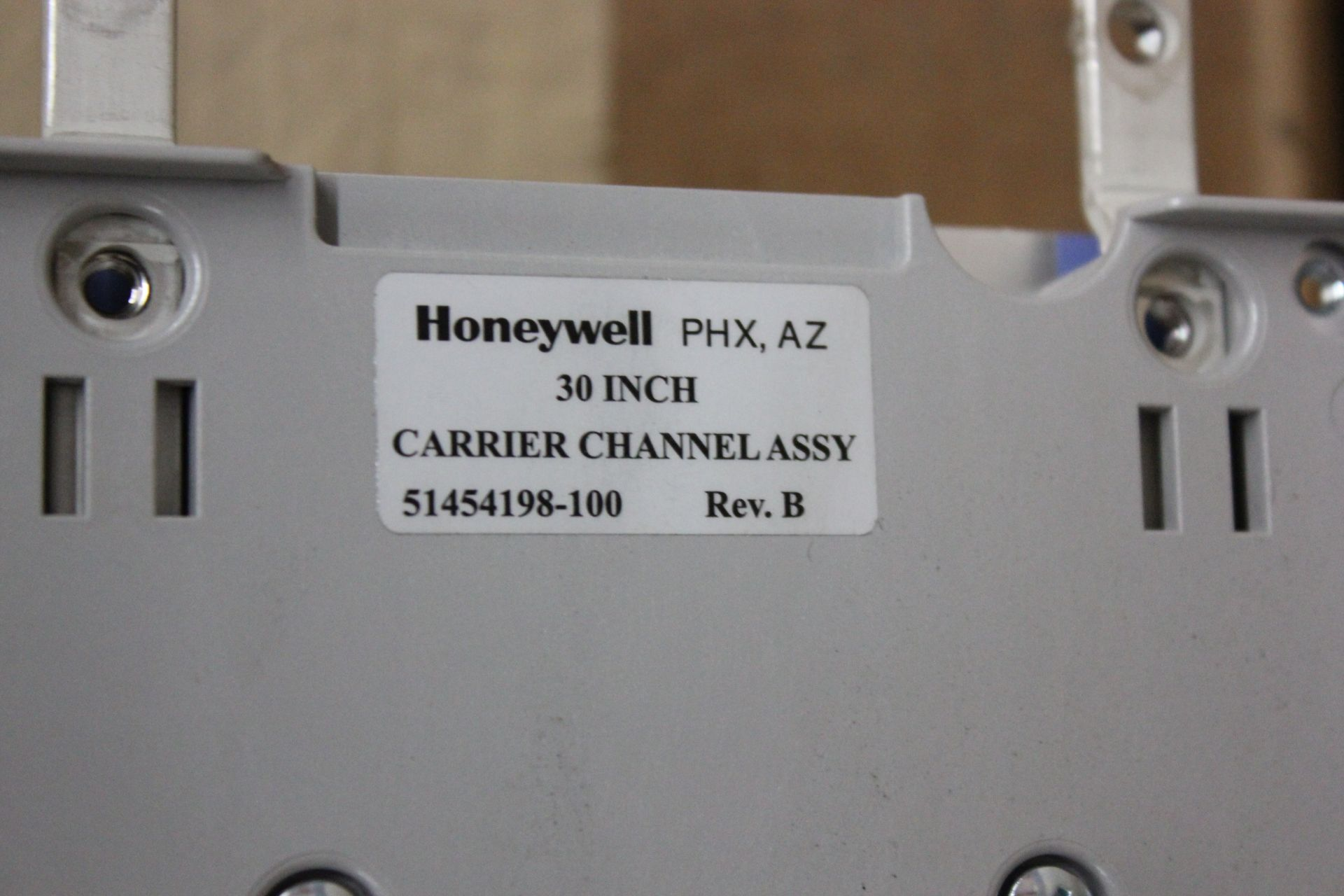 """NEW HONEYWELL 30"""" CARRIER CHANNEL ASSY - Image 6 of 6"""