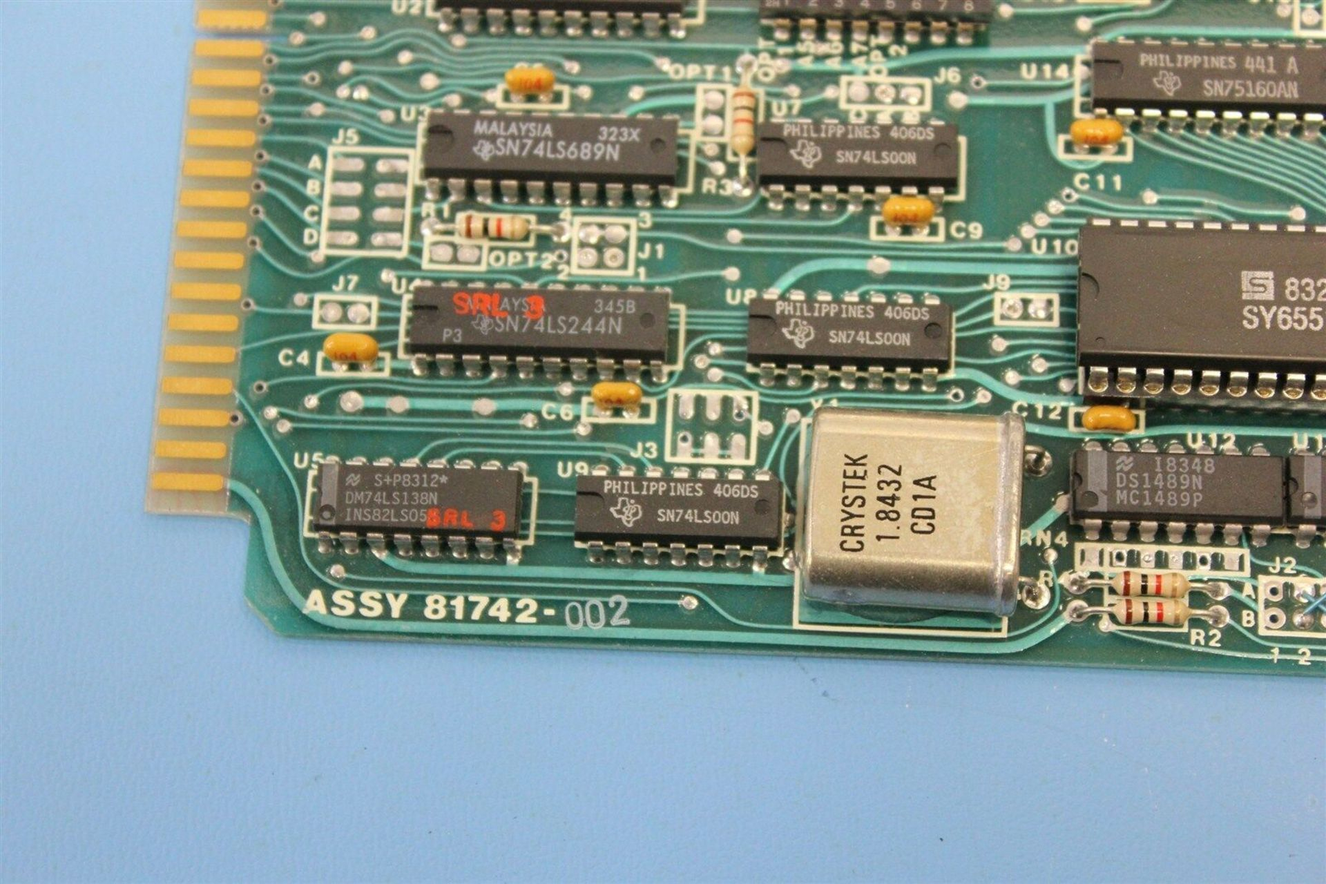 RENCO SERIAL INTERFACE MOTION CONTROL BOARD - Image 3 of 4