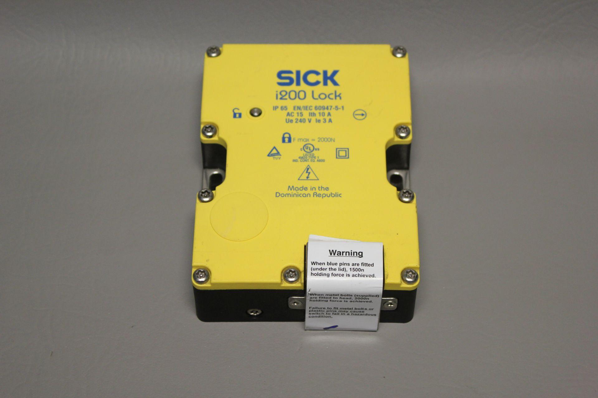 UNUSED SICK i200 SAFETY INTERLOCK SWITCH