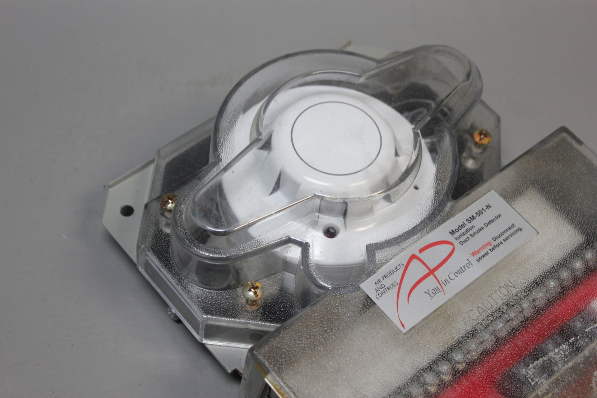 AIR PRODUCTS 4 WIRE DUCT SMOKE DETECTOR - Image 6 of 6