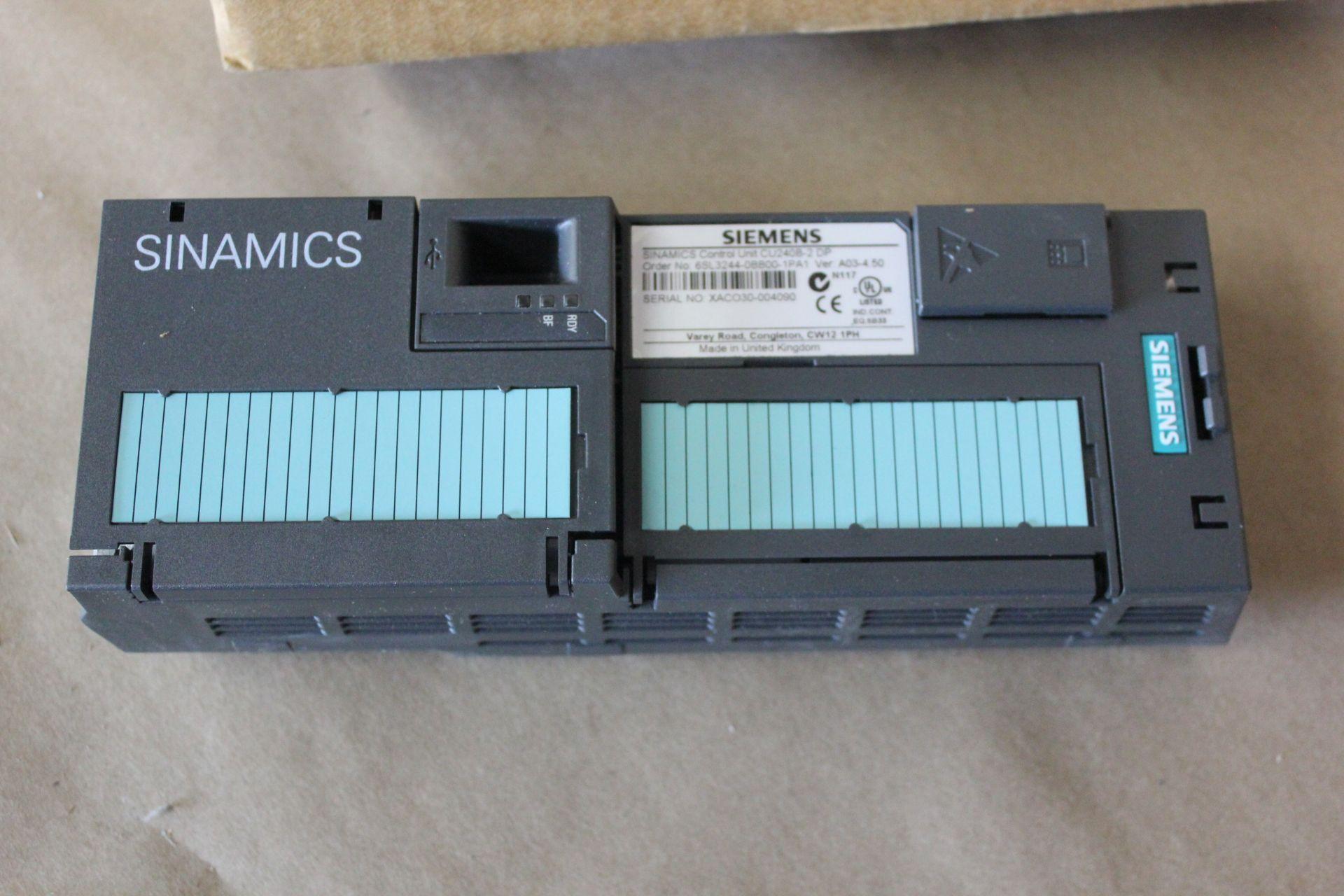 NEW SIEMENS SINAMICS PLC COTROL UNIT - Image 6 of 6