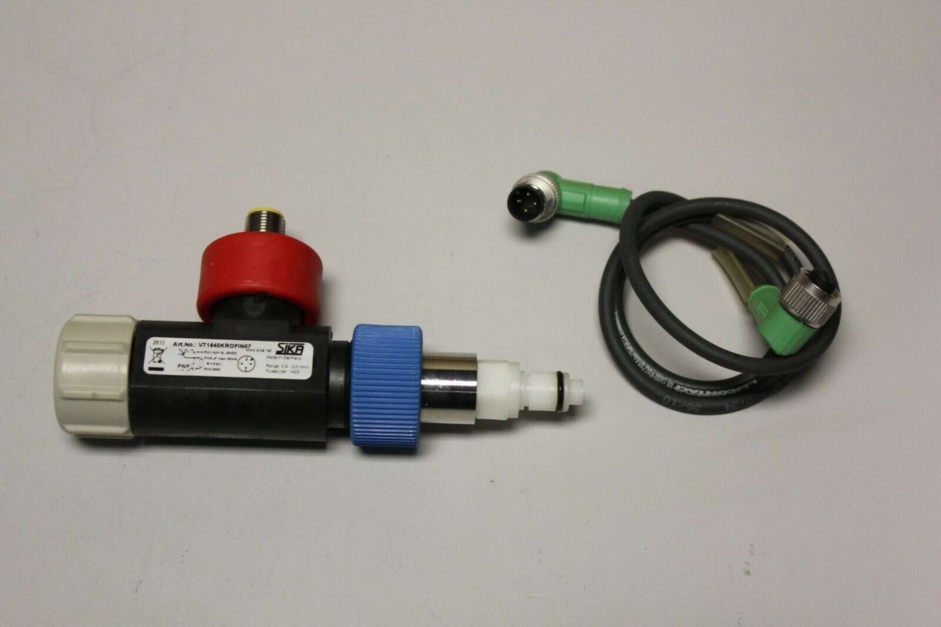 SIKA TURBINE FLOW SENSOR WITH CABLE