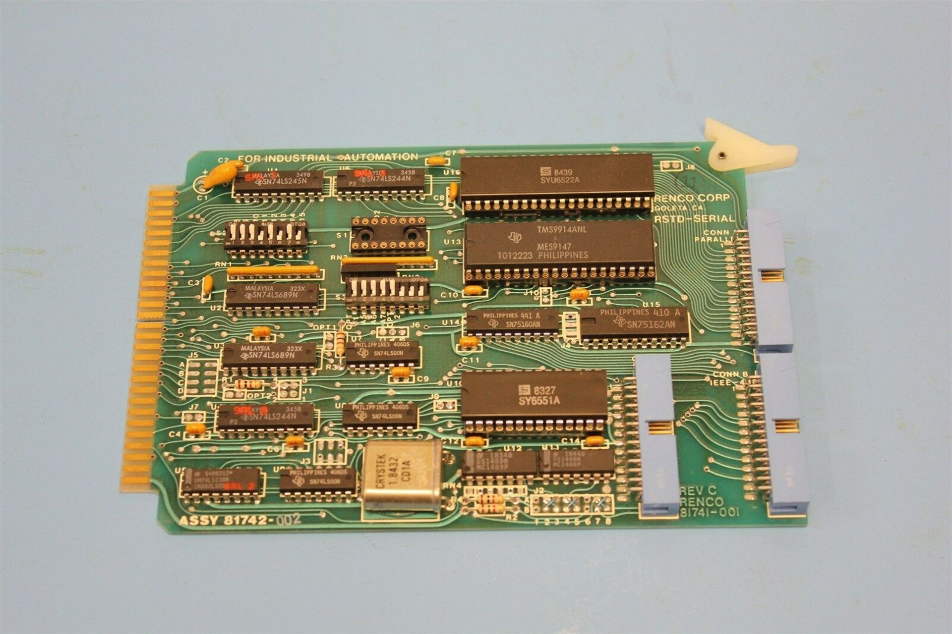 RENCO SERIAL INTERFACE MOTION CONTROL BOARD