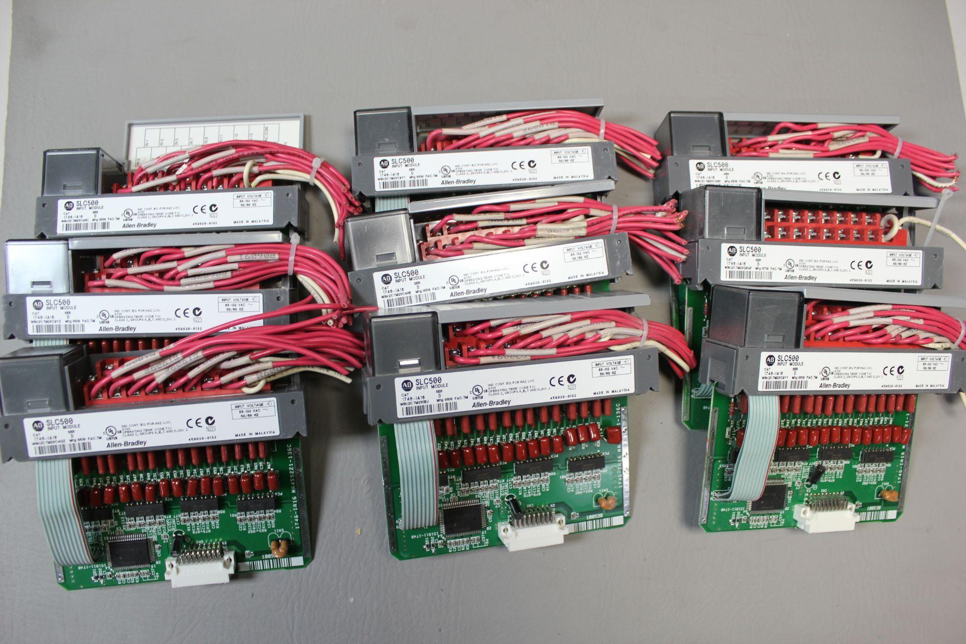 LOT OF ALLEN BRADLEY PLC MODULES - Image 2 of 5