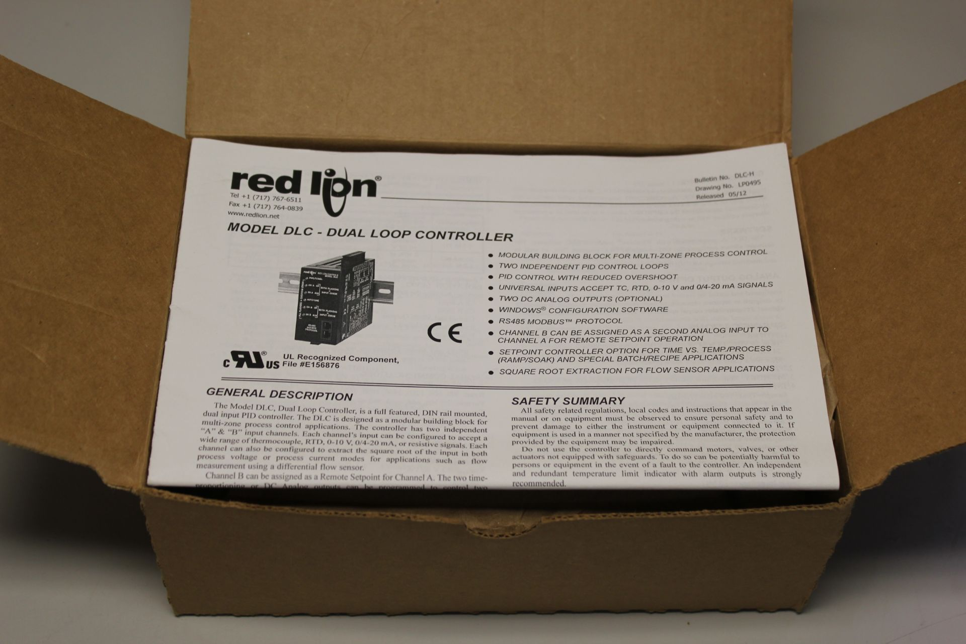 NEW RED LION DUAL LOOP PID CONTROLLER - Image 3 of 6