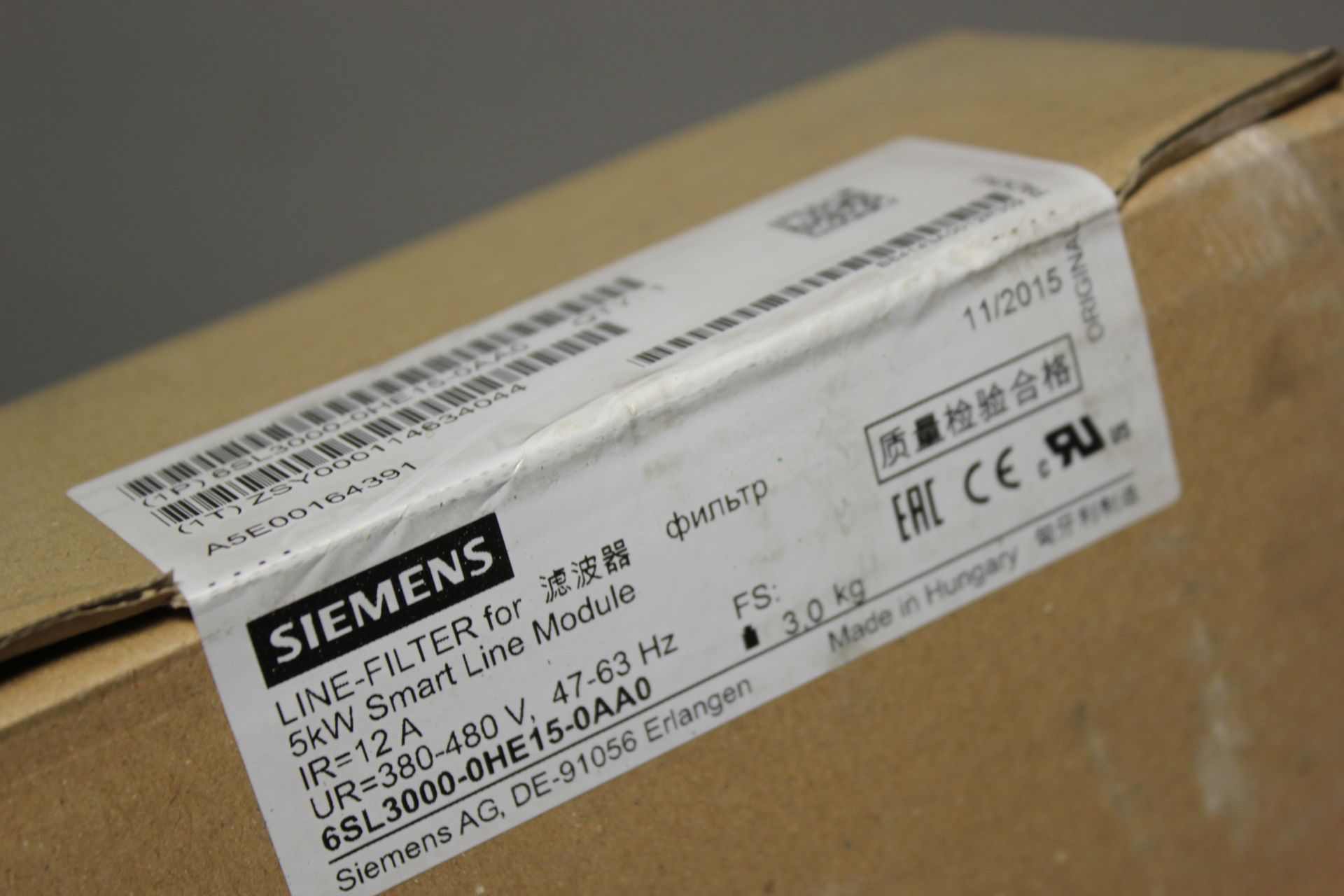 NEW SIEMENS LINE FILTER FOR SMART LINE MODULE - Image 4 of 4